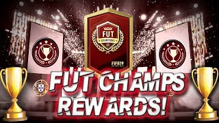 FIFA 19! FUTCHAMPS REWARDS!! (PS4/XBOX)