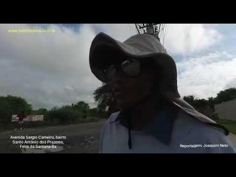 Buracos na Av. Sérgio Carneiro atrapalham o tráfego