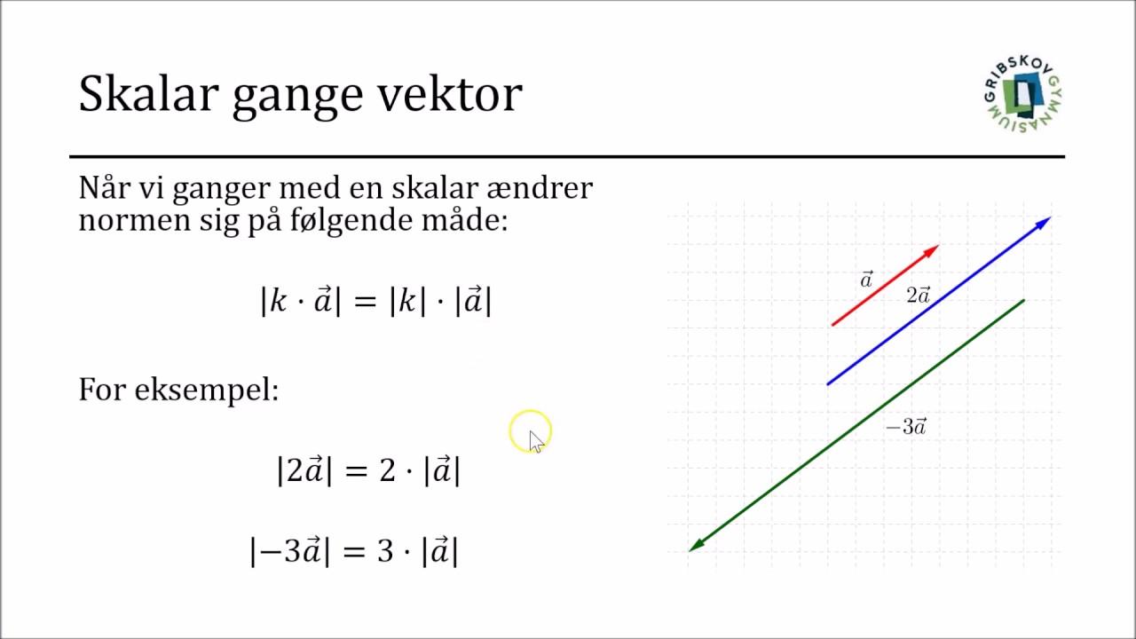 vektor regneregler