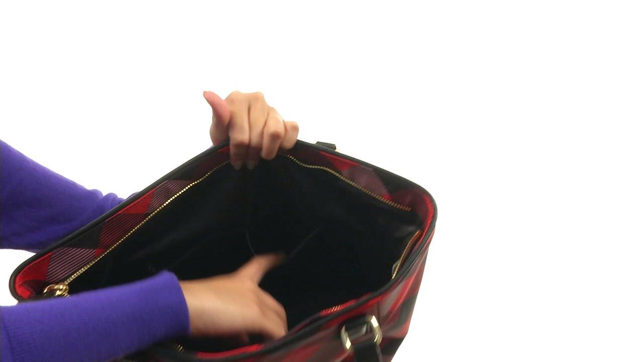 7b121acce Vera Bradley Small Ella Tote SKU 8653272 - YouTube