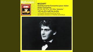 Violin Concerto No. 3 in G, K.216 (1990 - Remaster) : I. Allegro - Cadenza (by Sam Franko)