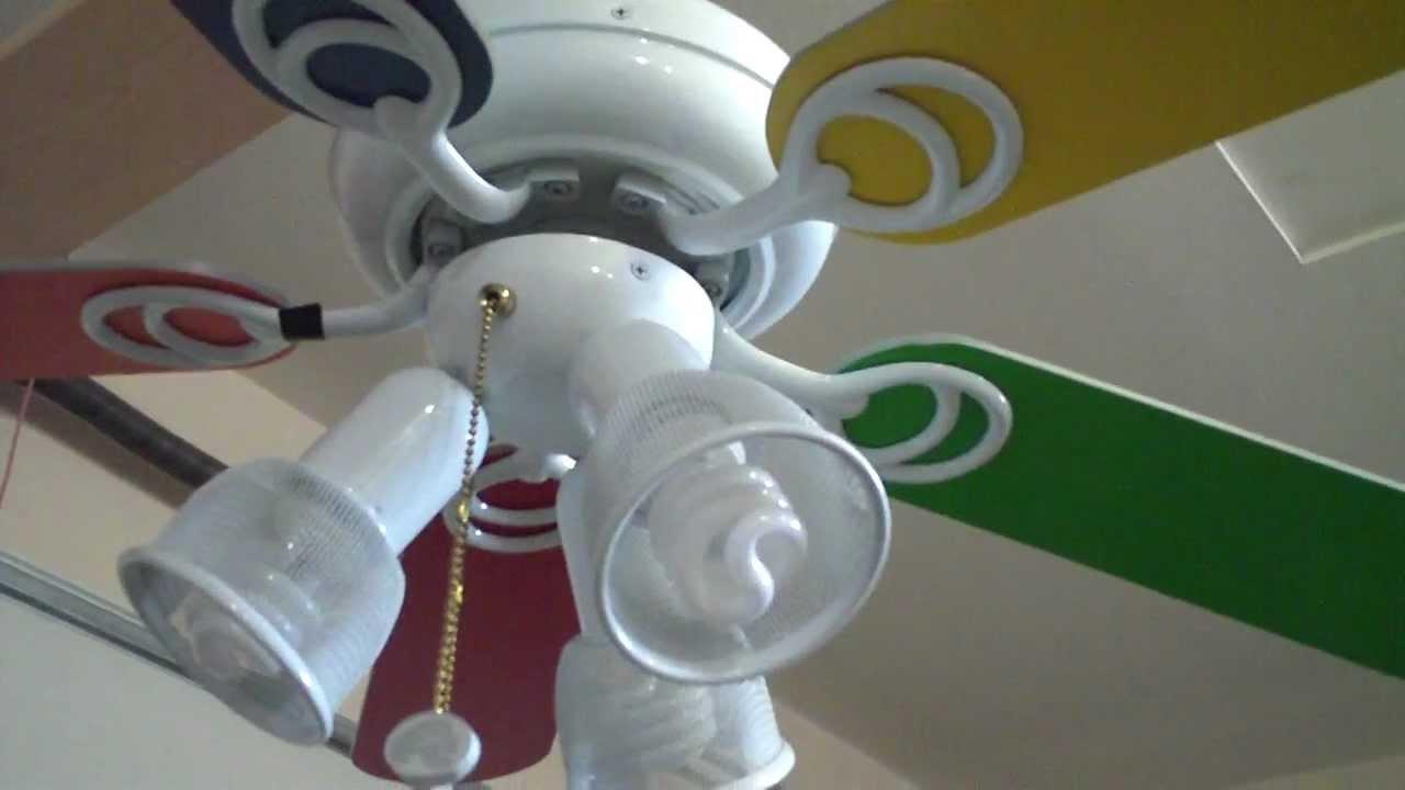 44 Hampton Bay Carousel Ii Ceiling Fan You