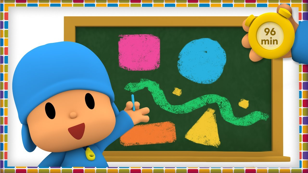 🎨 POCOYO AND NINA - Colors of the Rainbow [96 min] | ANIMATED CARTOON for Children | FULL episodes