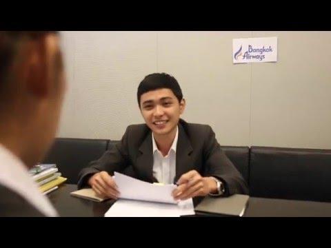 HT363 Bangkok Airway Flight Attendant
