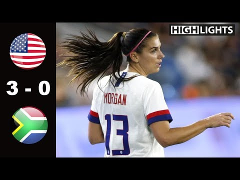 USA vs South Africa 3 - 0 All Goals & Highlights | May 12, 2019