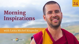 Morning Inspirations with Lama Michel Rinpoche (English – Italian) – 2019