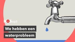 Waarom de wereld straks waarschijnlijk om drinkwater vecht  NOS op 3