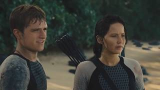 The Hunger Games: Catching Fire- Wave/ Blood Rain Scene [HD]