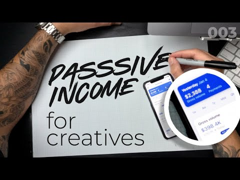 TOP 3 Passive Income Opportunities for CREATIVES in 2019 - 003