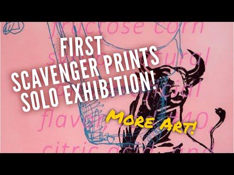 Scavenger Prints Has First Solo Exhibition!   Southtown SATX