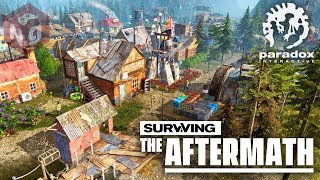 Surviving the Aftermath - Город в постапокалиптическом мире! #1