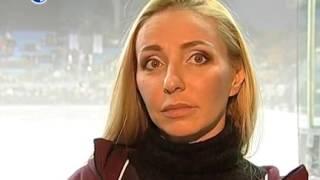 Татьяна Навка. Интервью четвертому каналу