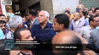 مصر العربية | وصول محافظ القاهرة لموقع حريق الفجالة