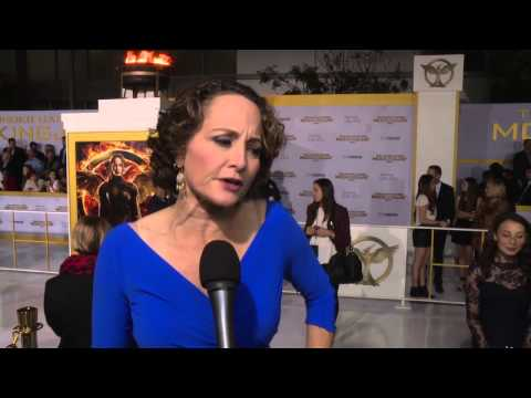 Producer Nina Jacobson - 'Mockingjay - Part 1' Los Angeles Premiere Interview