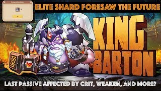 Idle Heroes King Barton - BUFFed Dwarf With Big Shoes to Fill?