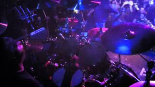 God Forbid -- Don't Tell Me What To Dream -- Live Drum Cam -- 11/17/12 Scout Bar - Houston, TX