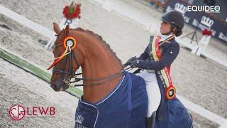 La leçon de dressage de la championne olympique Monica Théodorescu avec Charlotte Defalque