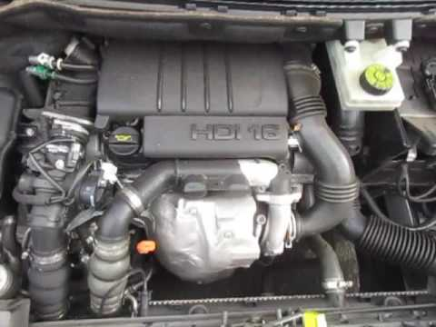 C18717 CITROEN BERLINGO 1.6HDi 9HX MANUAL 2010 ENGINE TESTING