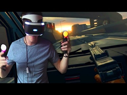 THE LONDON HEIST - Playstation VR Action/Shooter Gameplay