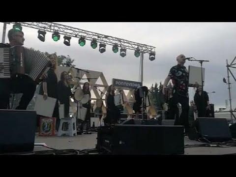 Actuación de Xabier Díaz en Pontevedra