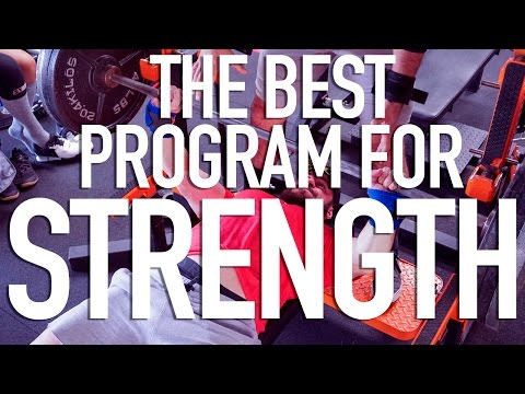 THE BEST PROGRAM FOR STRENGTH