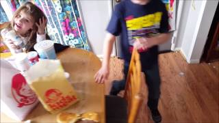 Kid Temper Tantrum Destroys His Lunch Cus He Wanted Mcdonalds[ Original ] 1k Subscribers Spe