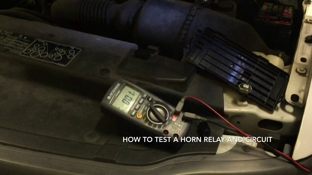 Testing A Horn Relay