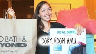 Dorm Room Haul 2014 + What To Bring To College