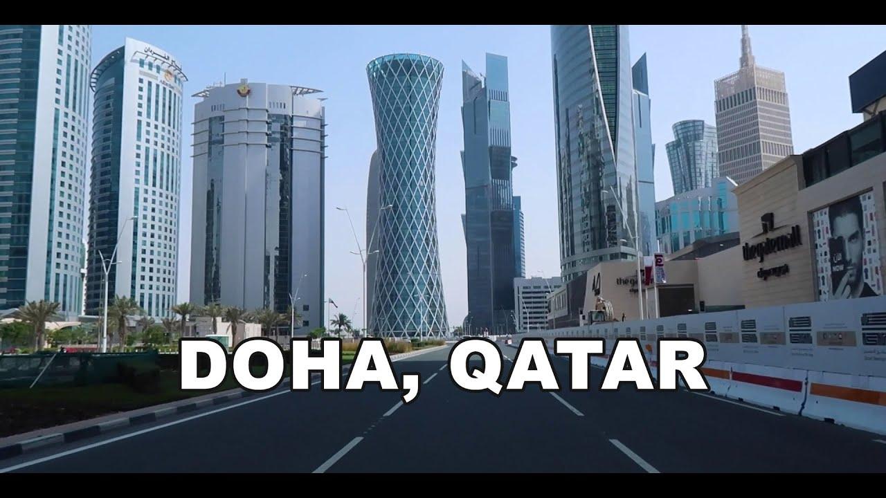 Download Doha, Qatar - Driving to Downtown Doha