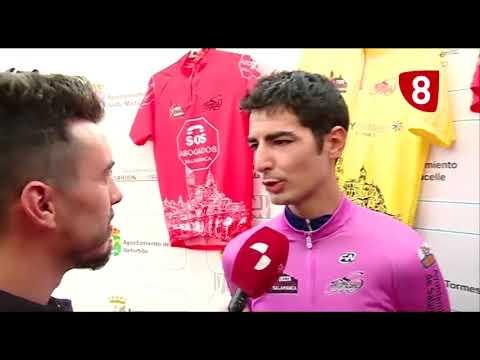 Antonio Soto vence la crono de inicio de la Vuelta Ciclista a Salamanca