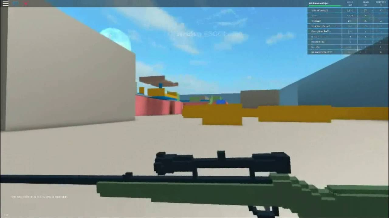 Best Roblox Game Of All Time Roblox Gun Game Youtube ...