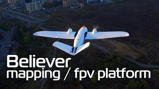 Best designed mapping platform I've seen - Believer 1960mm Twin tractor plane