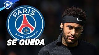 Neymar décide de rester au PSG | Revue de presse