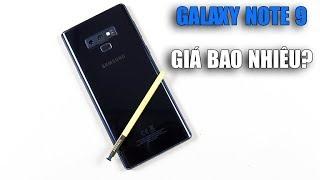 Samsung Galaxy Note 9 Hàn, Mỹ & chính hãng đang có giá là bao nhiêu???