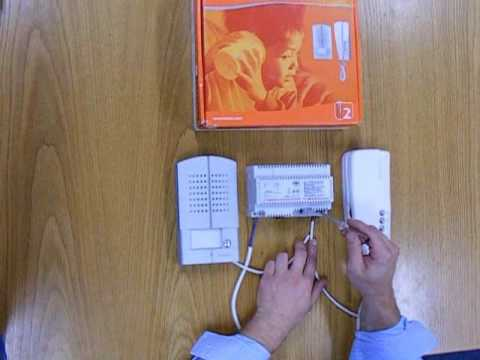 Bticino 2 Wire Audio Kit