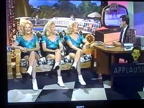 Del Rubio Triplets Part 1 on the CAMPY LATE Mr PETE Show KTLA 5 1991 USA Network Peter Chaconas
