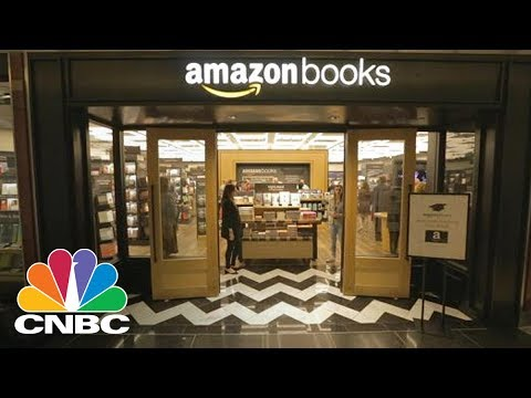 Amazon's First Brick-And-Mortar Bookstore Opens In New York City   CNBC