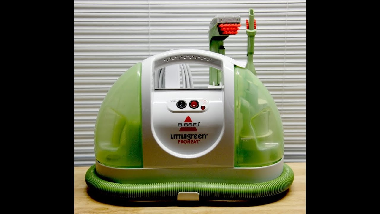 how to clean bissell little green proheat