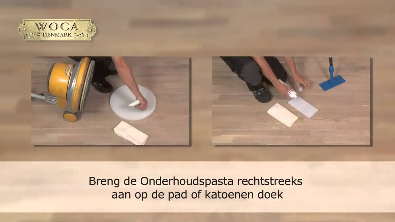 Houten Vloeren Breda : Onderhoudsinstructies woca onderhouds pasta alma parket houten