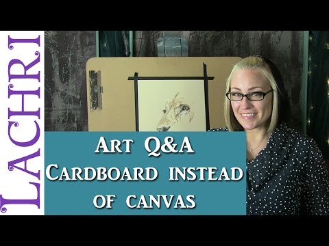 Art Q&A using upcycled materials for fine art? Tips w/ Lachri