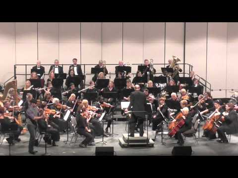 Jonny Lipford Plays Native American style flute with Florida Symphony