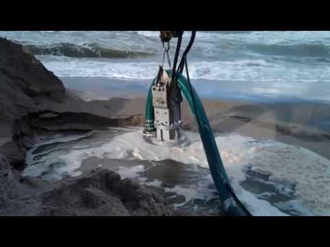 Dragflow Pump used for Geotextile bag filling
