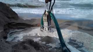 Dragflow Pump used for Geotextile bag filling
