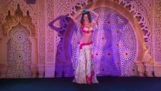 Sadie Marquardt  Drum solo Oriental Pearl Belly Dance Festival  2013 Artist:Amir Sofi
