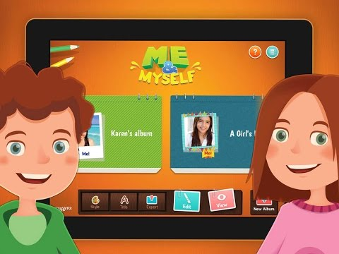 Me & Myself - Learn to express yourself  - iPad app demo for kids - Ellie