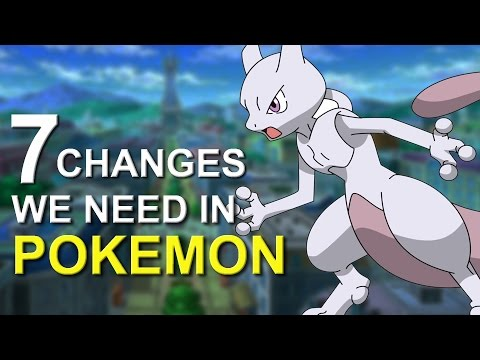 7 Changes That NEED to Happen in Pokemon Games