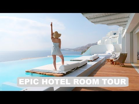 Greece Hotel – Epic Room Tour!!