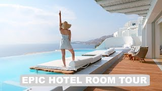 Greece Hotel - Epic Room Tour!!
