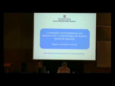 II Jornades La recerca sociolingüística en l'àmbit de la llengua catalana (2013)