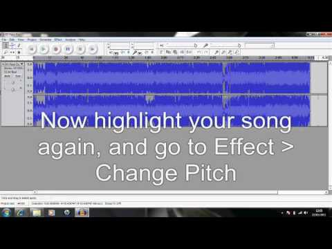 How to Remove copyright from music!!